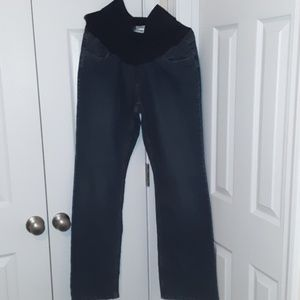 Motherhood Maternity Blue Jeans Size Large
